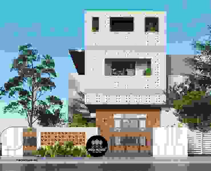Biệt thự phố 3 tầng hiện đại bởi NEOHouse
