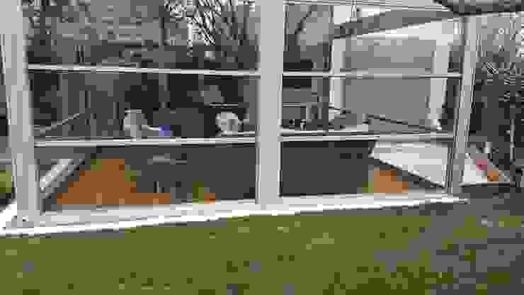 Yapısan Cephe Sistemleri Moderner Wintergarten Glas Braun