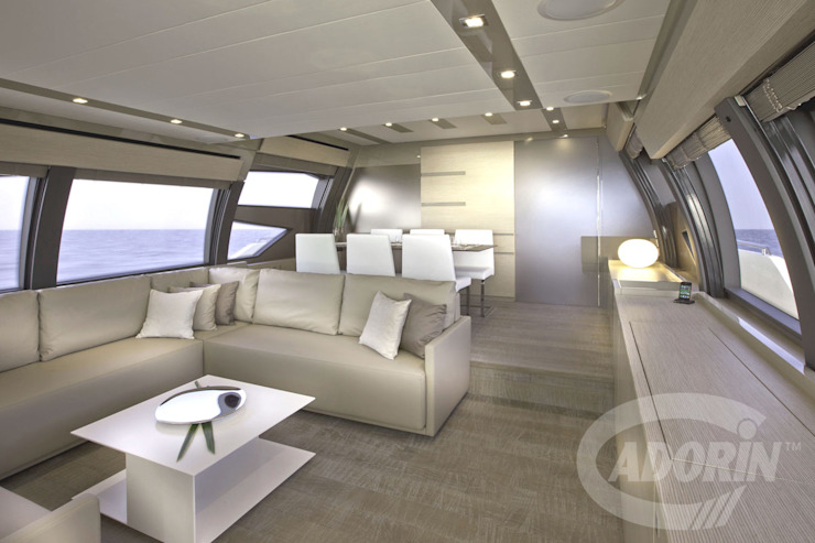 Yacht planks - Country Decapé oak floor Modern yachts & jets by Cadorin Group Srl - Top Quality Wood Flooring Modern