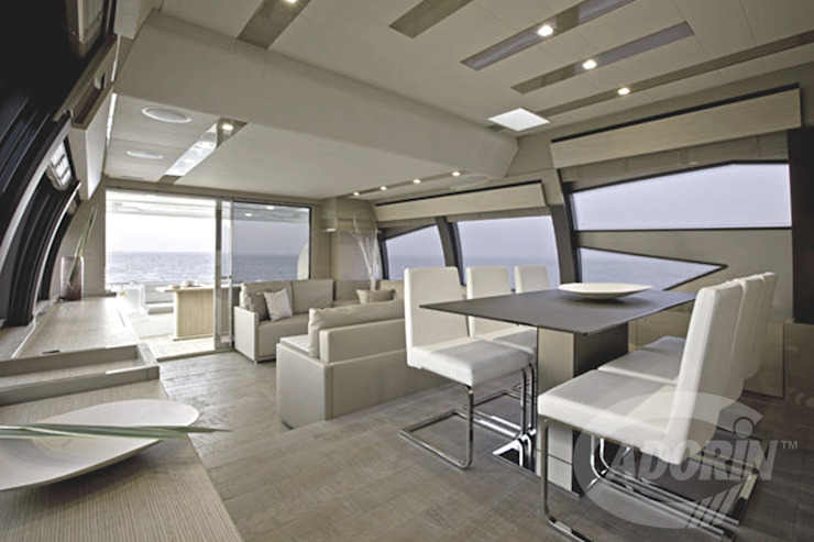 Yacht planks—Country Decapé oak floor Modern yachts & jets by Cadorin Group Srl - Top Quality Wood Flooring Modern