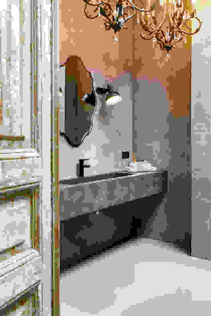 Ванная в стиле лофт от Pure & Original Лофт