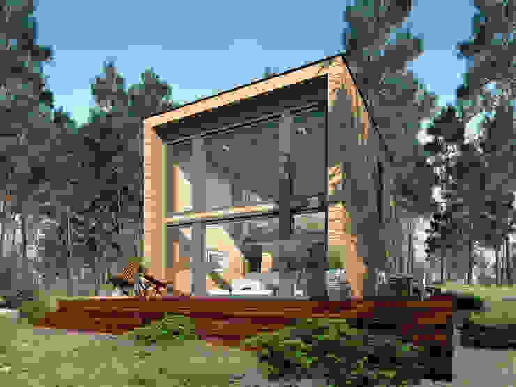 by THULE Blockhaus GmbH - Ihr Fertigbausatz für ein Holzhaus Eclectic