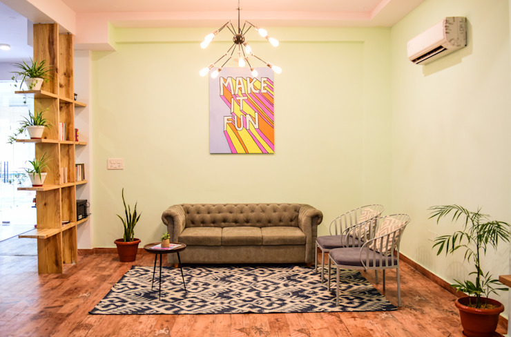 Chambre tropicale par Designs by Sunakshi Tropical