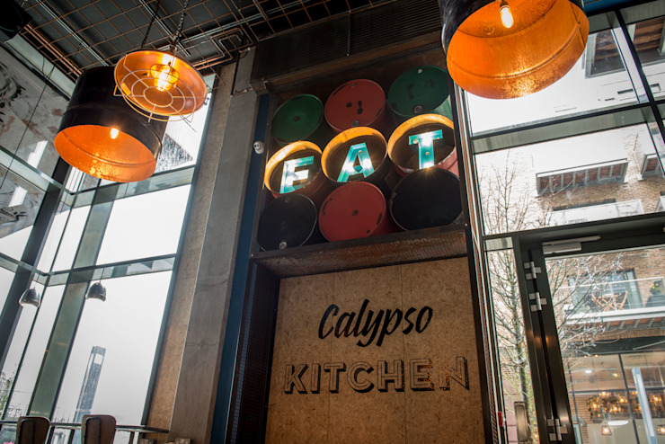 Calypso Kitchen Hart Design and Construction Industrial style bars & clubs