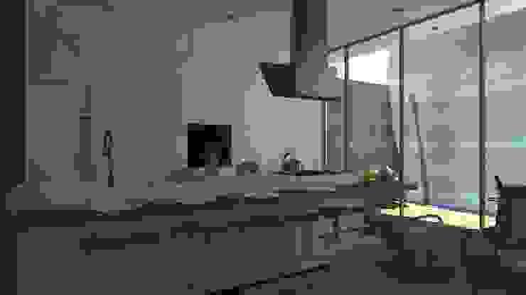 COCINA Cocinas de estilo moderno de TECTONICA STUDIO SAC Moderno