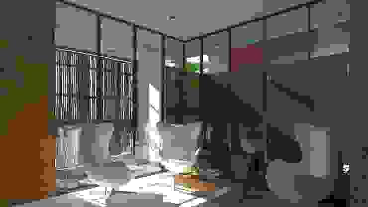LOBY Salas modernas de TECTONICA STUDIO SAC Moderno