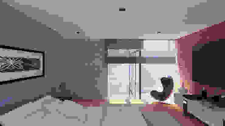 DORMITORIO Dormitorios de estilo moderno de TECTONICA STUDIO SAC Moderno