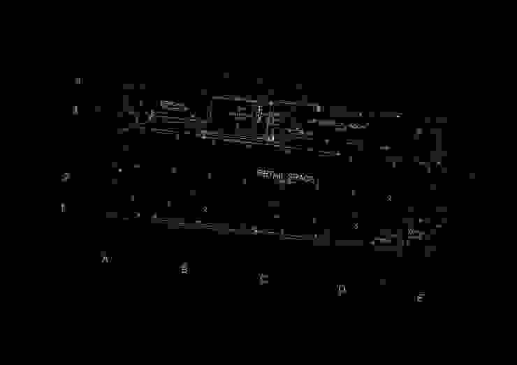 planta baja e instalaciones Oficinas de estilo tropical de Alexander Chivico & Architects Tropical
