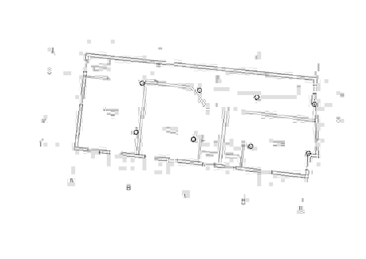 planta tipo hotel Cuartos de estilo tropical de Alexander Chivico & Architects Tropical