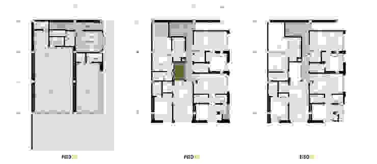 PROYECTO DE VIVIENDA MULTIFAMILIAR / APARTAESTUDIO de UN estudio de Arquitectura Minimalista
