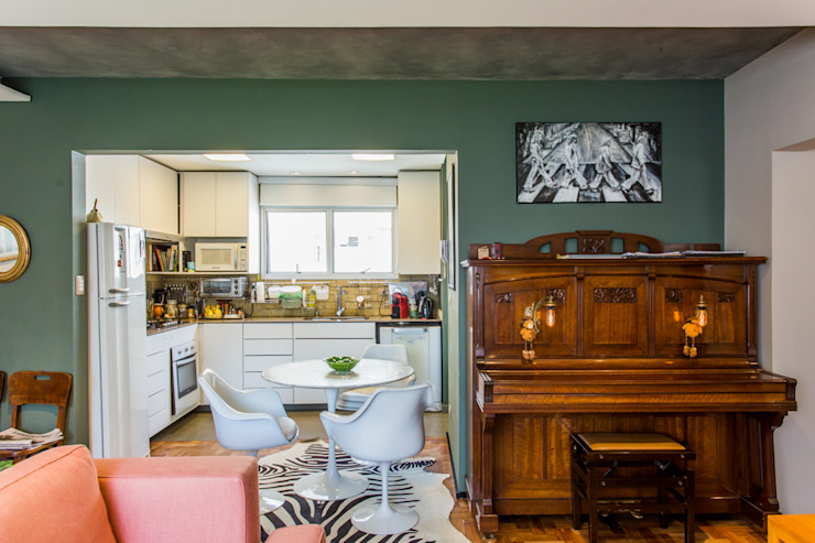 Livings de estilo moderno de Mazorra Studio Moderno