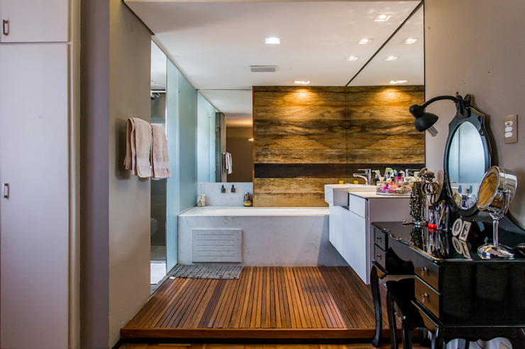 Baños de estilo moderno de Mazorra Studio Moderno