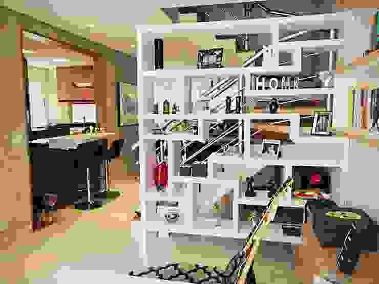 Salas multimedia modernas de Mazorra Studio Moderno
