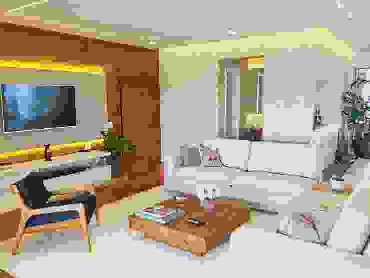 Salones de estilo moderno de Mazorra Studio Moderno