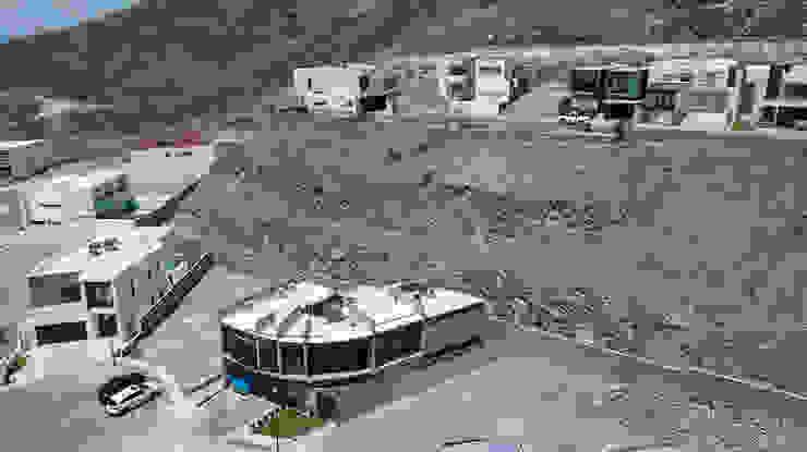 Vista de pájaro de Garza Maya Arquitectos Moderno Concreto