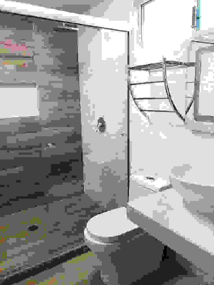 Baño moderno en blanco Spazio3Design