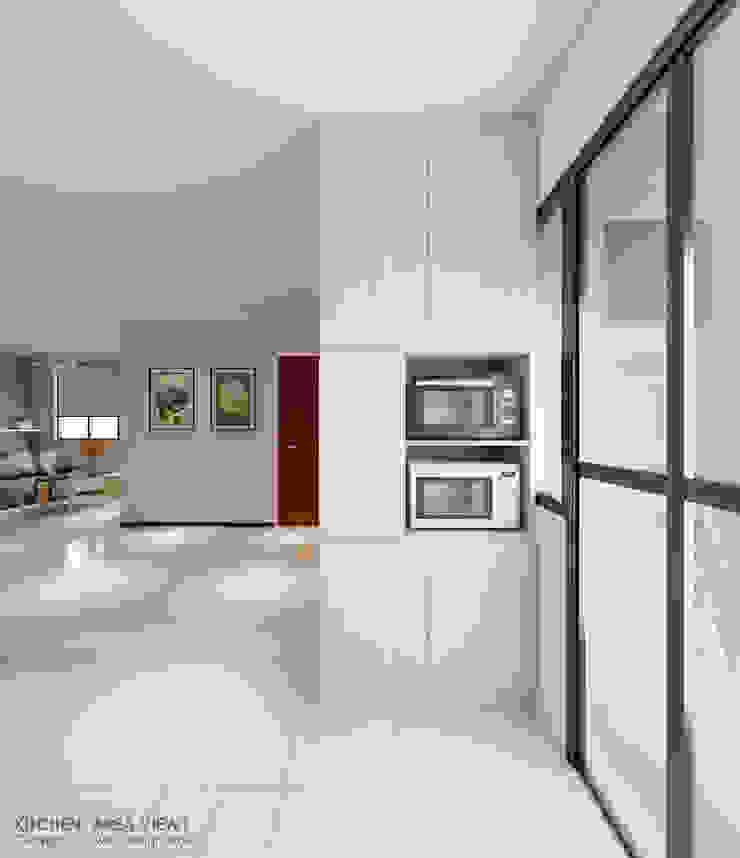 Kitchen tall unit Modern kitchen by Swish Design Works Modern Plywood