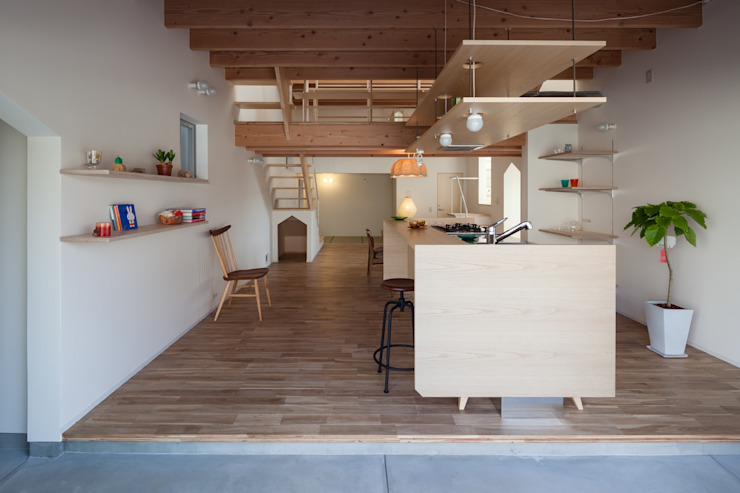 FUMIASO ARCHITECT & ASSOCIATES/ 阿曽芙実建築設計事務所 Kitchen