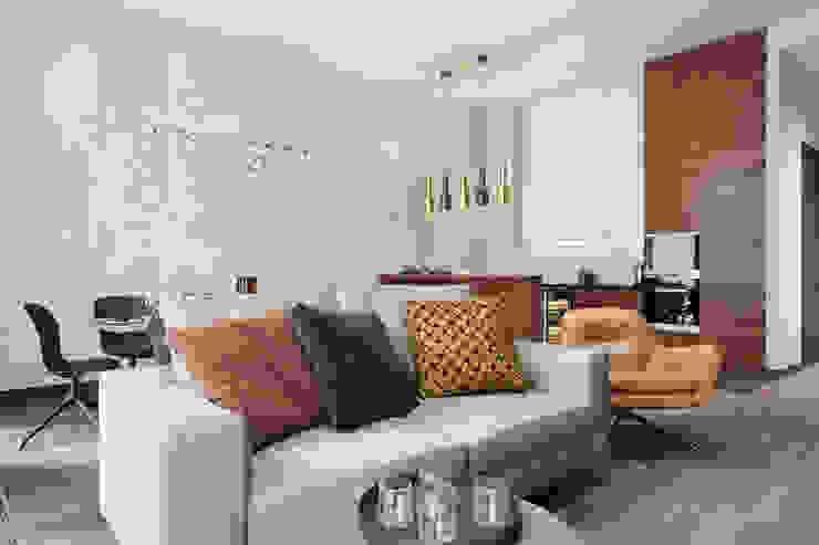Ruang Keluarga Minimalis Oleh Студия архитектуры и дизайна Дарьи Ельниковой Minimalis
