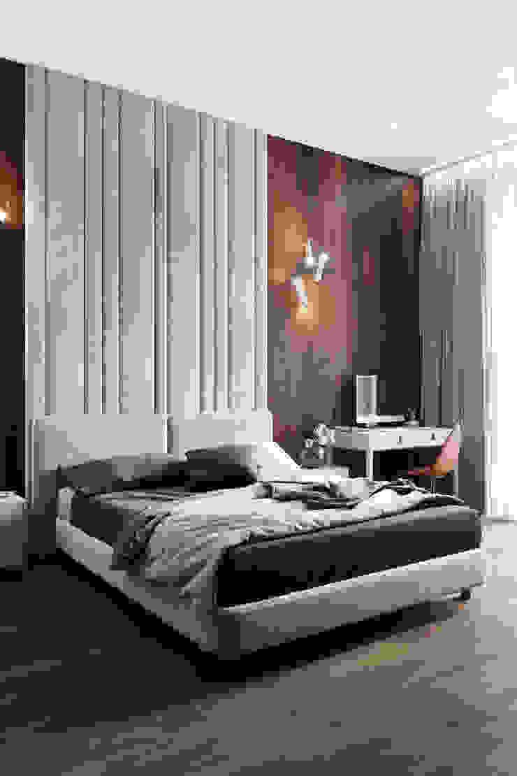Студия архитектуры и дизайна Дарьи Ельниковой Quartos minimalistas