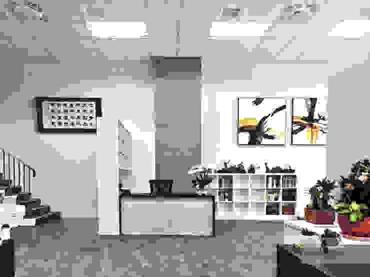 辦公室 根據 艾文設計有限公司 現代風
