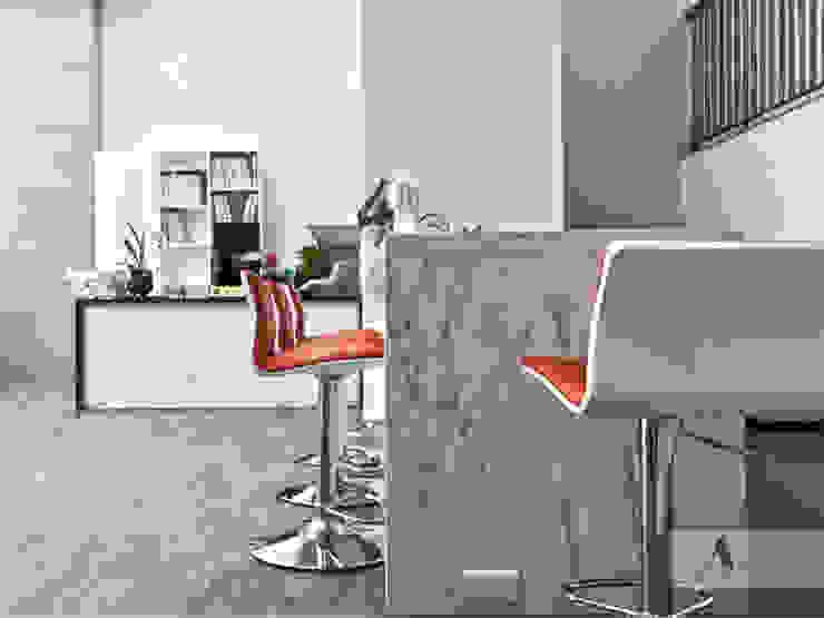 辦公室吧台 根據 艾文設計有限公司 現代風