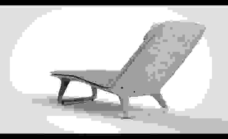 Chaiselongue, Liege aus Beton von DOMANI INTERIOR. Möbel. Art. aus Freiburg Ausgefallen Beton