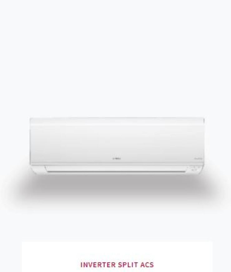 Johnson Control-Hitachi Air Conditioning India Limited Small bedroom Iron/Steel White