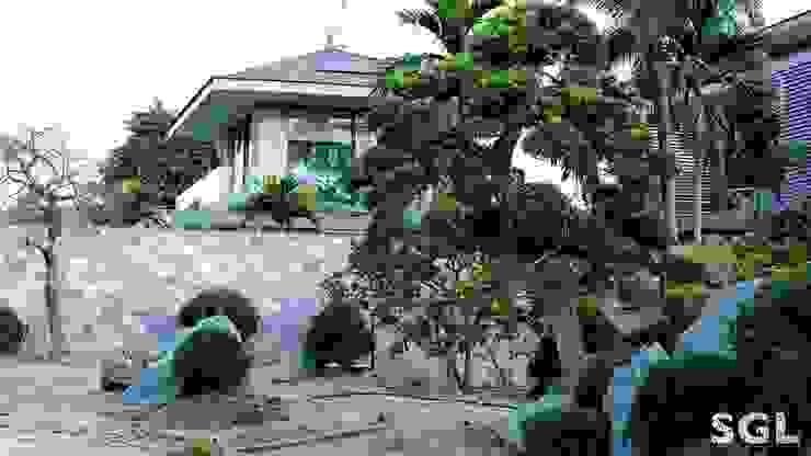THI CÔNG VƯỜN NHẬT bởi SGL LANDSCAPE ARCHITECTURE CO.,LTD Châu Á