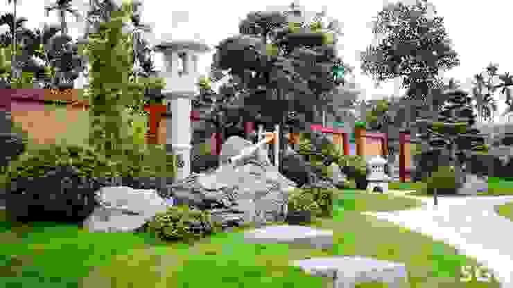 TIỂU CẢNH NƯỚC bởi SGL LANDSCAPE ARCHITECTURE CO.,LTD Châu Á