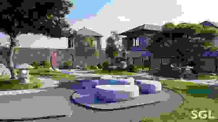 BÀN TRÀ THẠCH bởi SGL LANDSCAPE ARCHITECTURE CO.,LTD Châu Á