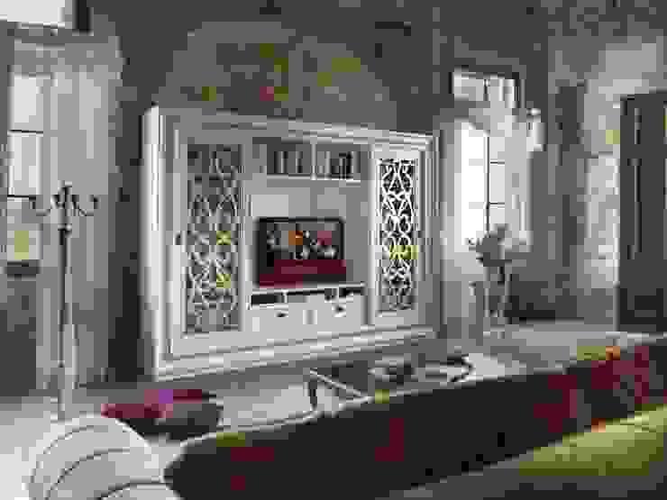 Villa Fascinato: Soggiorno in stile  di Idea Stile,