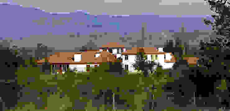 Babilonia Casas de estilo colonial de Construccion Americana Colonial