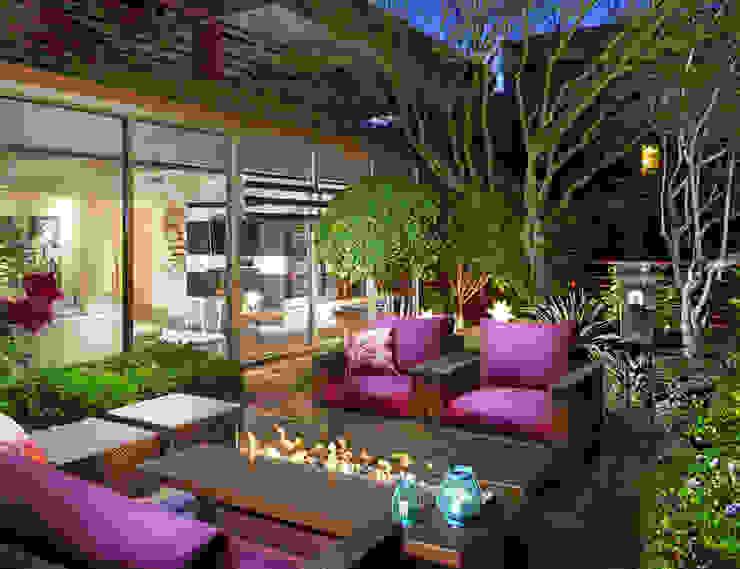 Terraza feng shui de Renovando espacios Crea-Transforma-Diseña