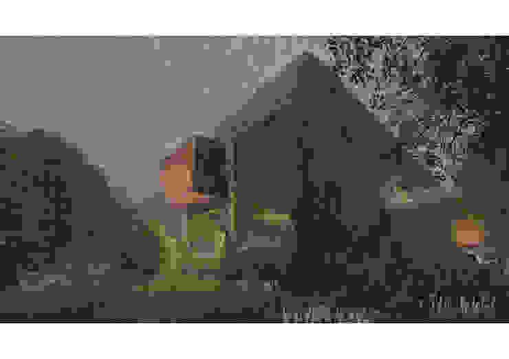 Fachada 01 Casas estilo moderno: ideas, arquitectura e imágenes de Zenobia Architecture Moderno