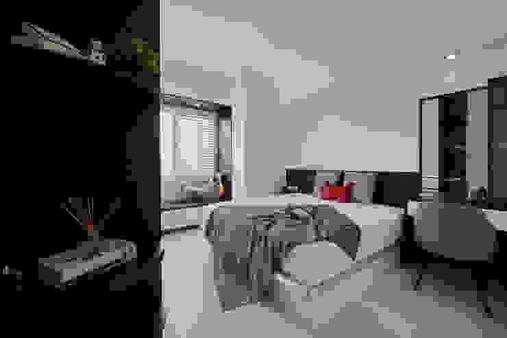 臥室 Minimalist bedroom by 艾文設計有限公司 Minimalist