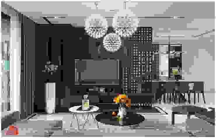 Thiết kế nội thất chung cư Diamond: hiện đại  by Thiết Kế Nội Thất - ARTBOX, Hiện đại