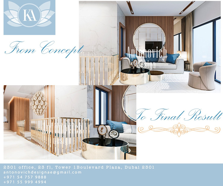 One of the Most Amazing in the Interior Business: Katrina Antonovich by Luxury Antonovich Design
