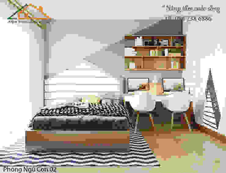 THIẾT KẾ NỘI THẤT HIỆN ĐẠI CHUNG CƯ BOOYOUNG bởi Công ty CP kiến trúc và xây dựng Eco Home