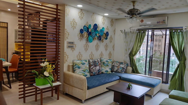 Classic style living room by HARDIK PATIL ARCHITECTS Classic