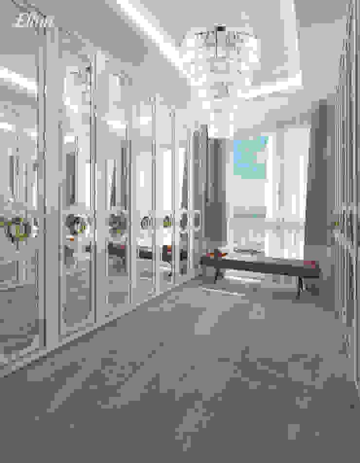 Exclusive crystal pendant ceiling light with Swarovski crystals Closets de estilo moderno de Luxury Chandelier Moderno Cobre/Bronce/Latón
