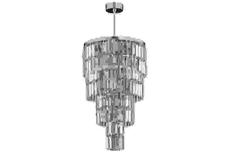 Exclusive crystal pendant ceiling light with Swarovski crystals Comedores de estilo moderno de Luxury Chandelier Moderno Cobre/Bronce/Latón