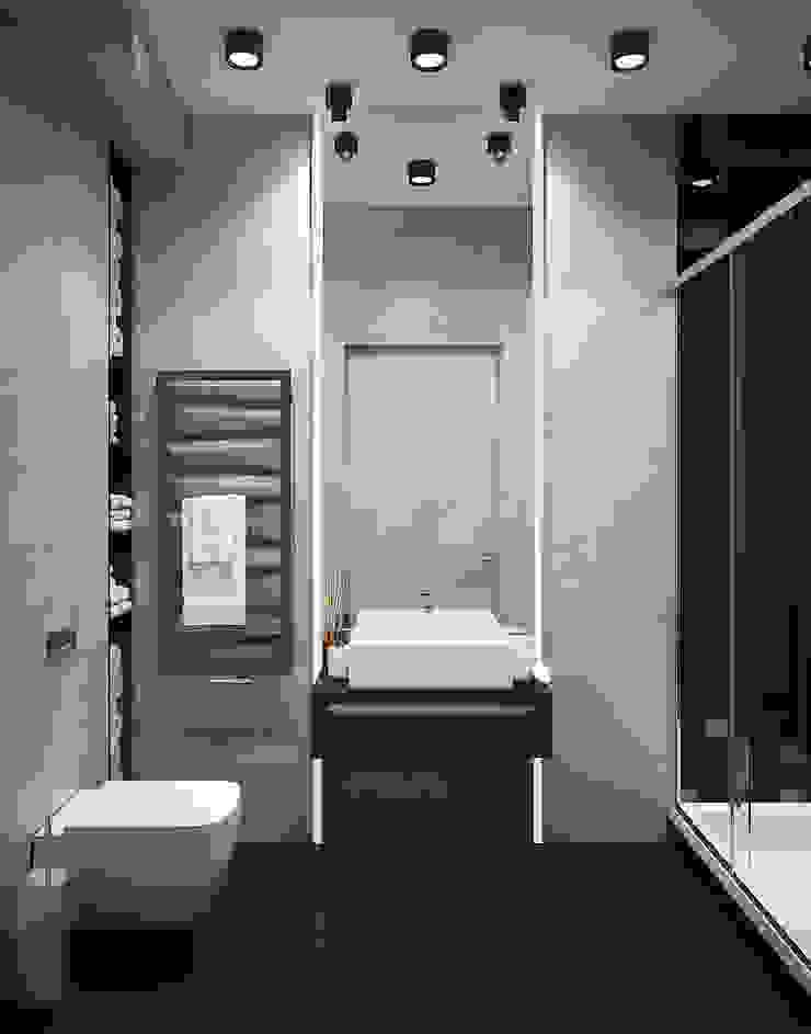 Baños de estilo industrial de «Студия 3.14» Industrial