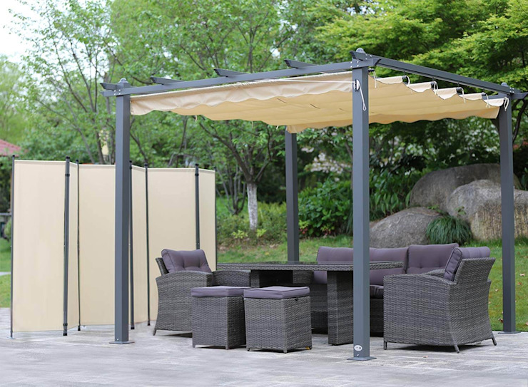 Pérgola De Aluminio Para Terraza By Todo Pérgola Homify
