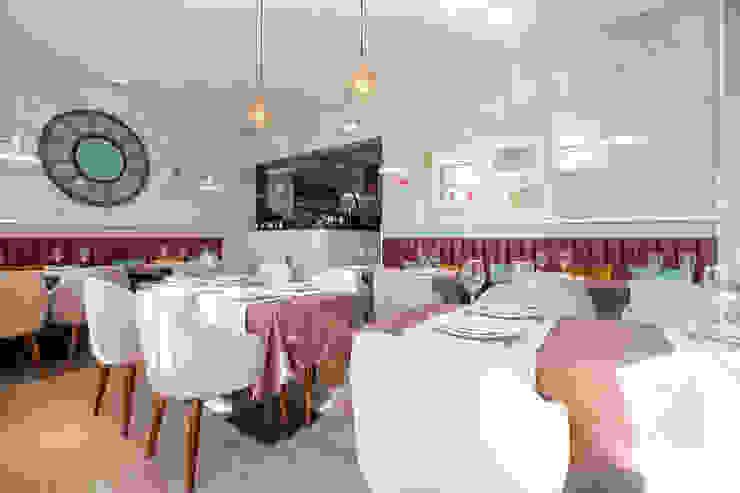 Sala de jantar (Restaurante) - Projeto SHI Studio Interior Design, Matosinhos ShiStudio Interior Design Salas de jantar modernas