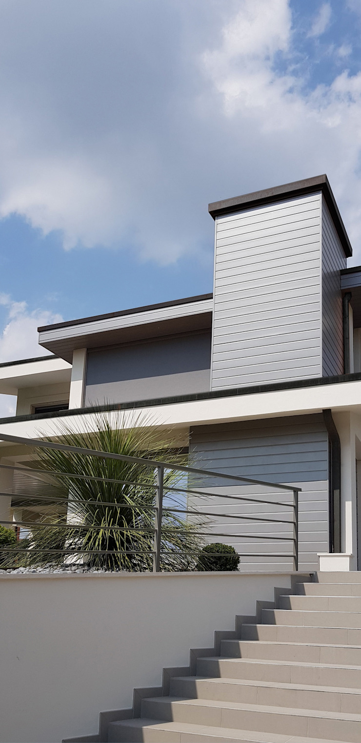 Veduta esterna Giardino minimalista di viemme61 Minimalista