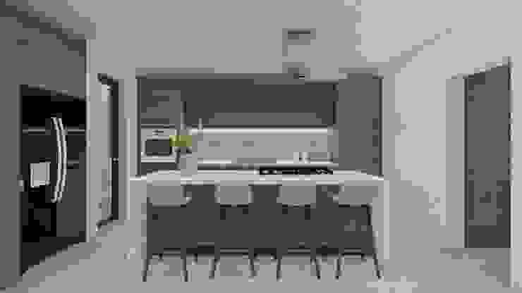 cocina KAD Arquitectos Cocinas minimalistas