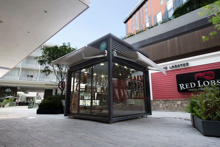 BKT mobiliario urbano: modern tarz , Modern