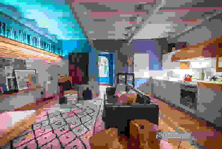 Un bajo con mucha inspiración en el barrio de Gracia en Barcelona Hoteles de estilo ecléctico de Carlos Sánchez Pereyra | Artitecture Photo | Fotógrafo Ecléctico