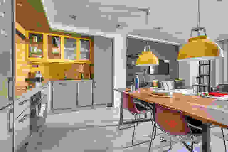 Cocina comedor de un apartamento turístico en Barcelona Hoteles de estilo moderno de Carlos Sánchez Pereyra | Artitecture Photo | Fotógrafo Moderno